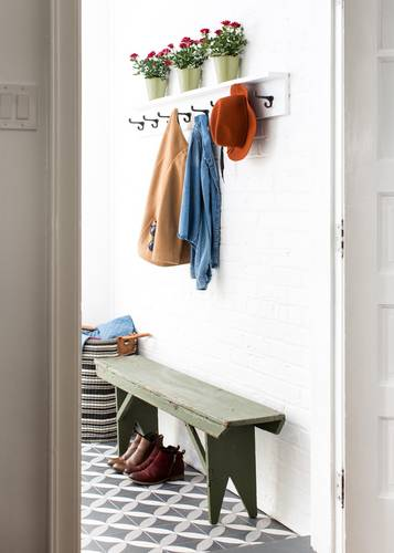 Get The Look Of This Mudroom in Domino Magazine