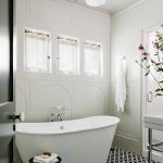Torino cement tiles for a bathroom design