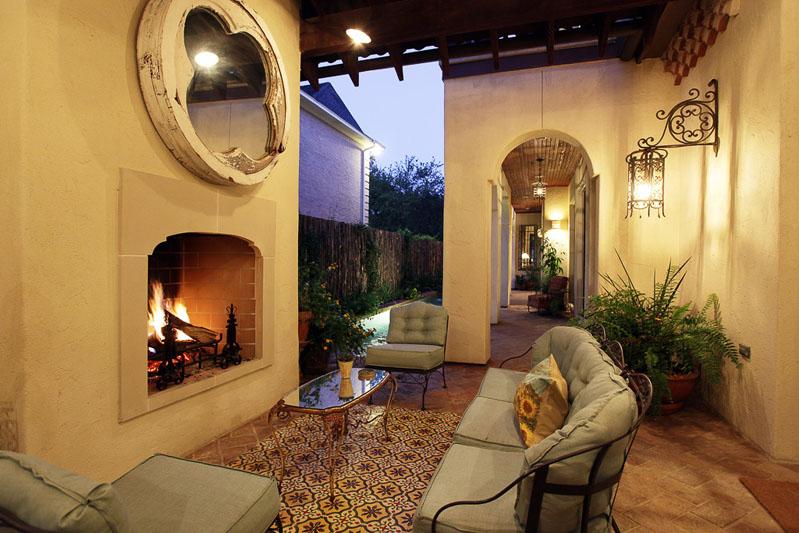 Mirador Outdoor Patio Lounge Sofia Granada Cement Tile
