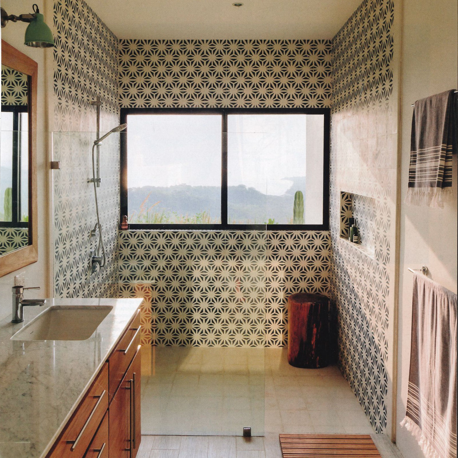 Have you seen this tunis cement tile bathroom granada tile the secret to a beautiful space starts with a foundation of our cement tile patterns many of our most popular concrete tile designs like our fez encaustic dailygadgetfo Image collections