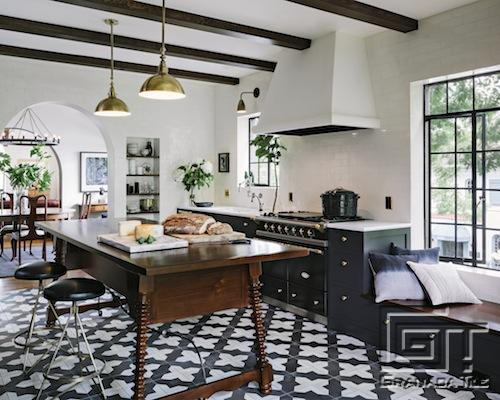 Kitchen remodel in a Portland Oregon - Granada Tile Cement Tile Blog ...