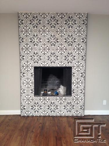 Installation Equation Cluny Cement Tiles For A Chic