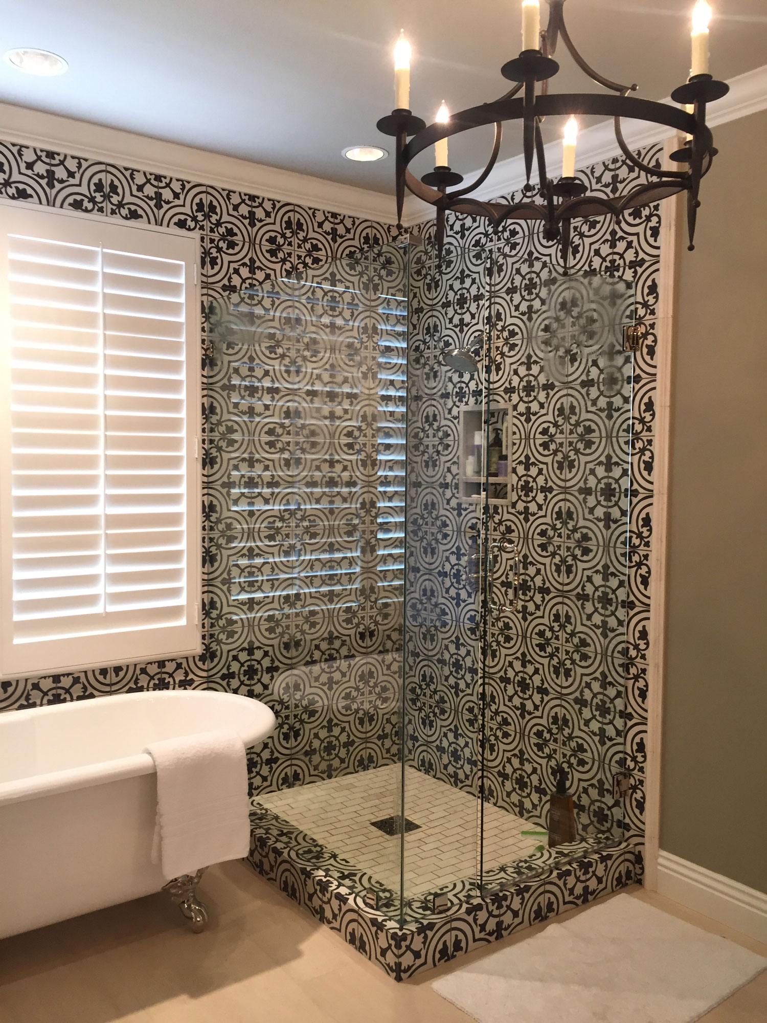 Granada Tile's Cluny Cement Tile In a San Clemente ...