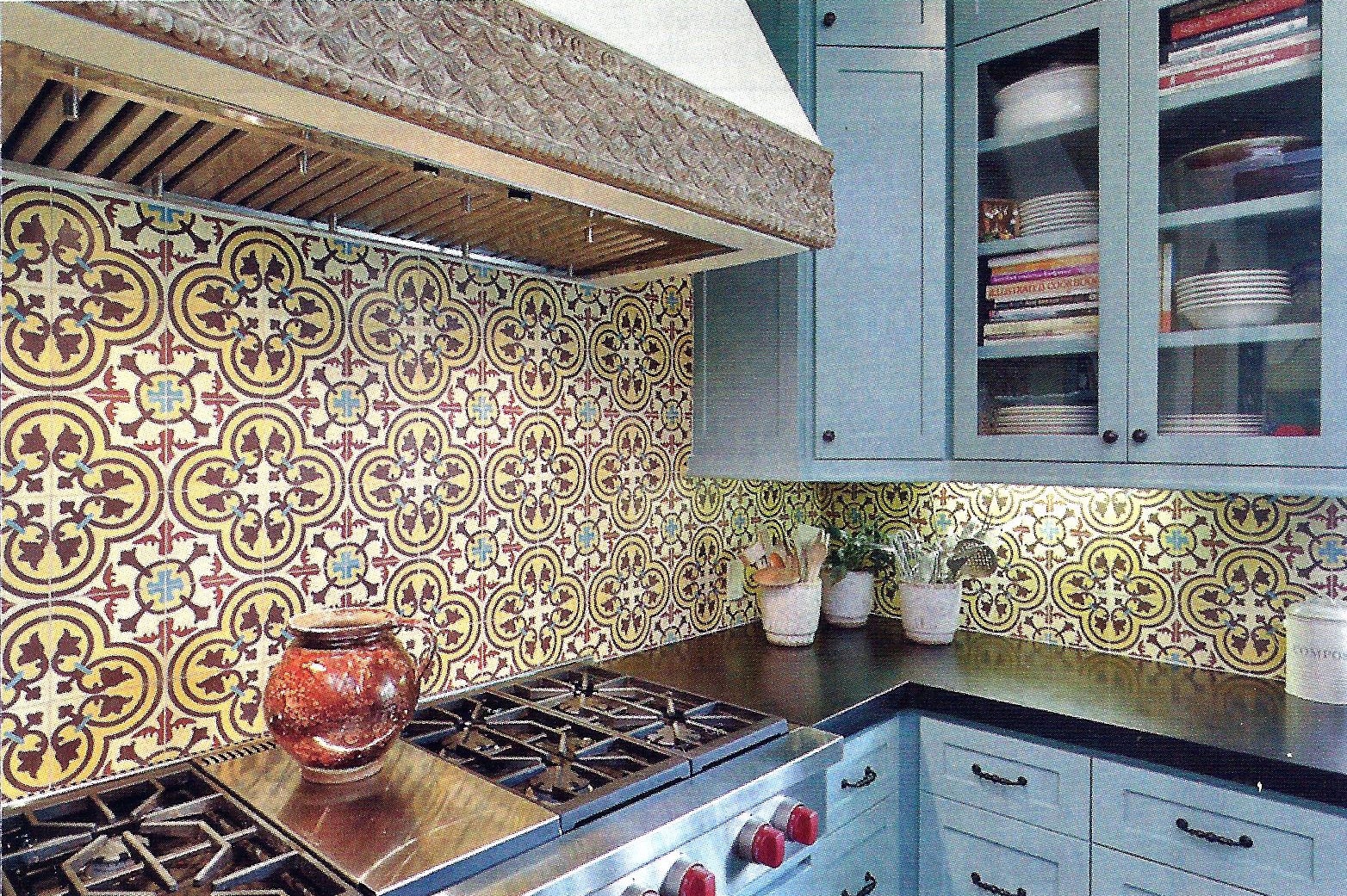 - Installation Equation: Cement Tile Backsplash For An Inexpensive