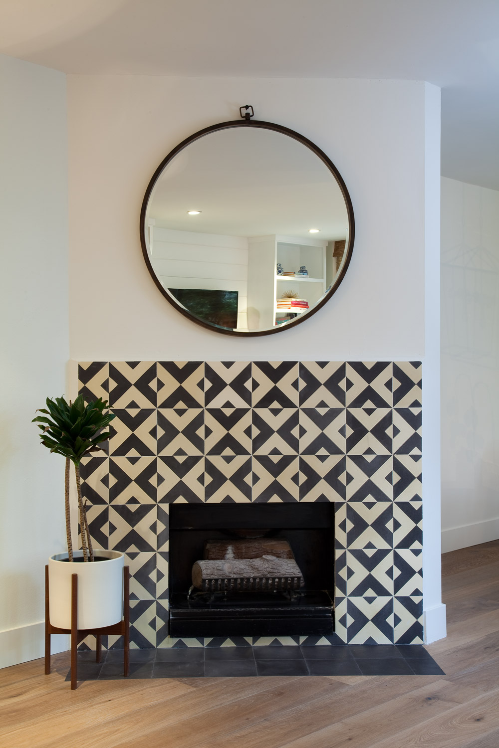 Granada Tile S Serengeti Cement Tiles Update A Fireplace