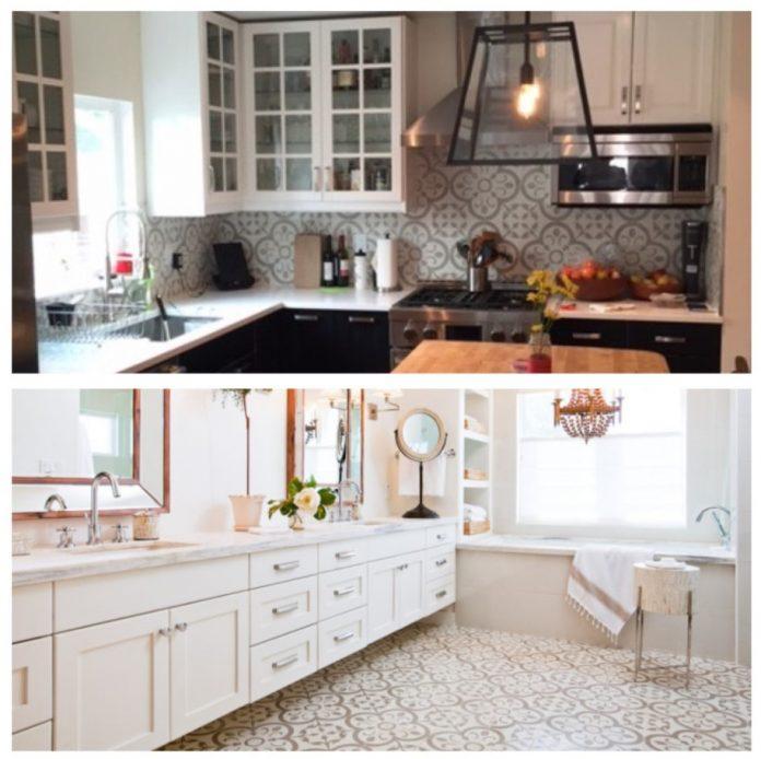 Kitchen Tile Work: VersaTile: For Bathroom Tile Or Kitchen Tile, Granada Tile Cement Tile Patterns Work