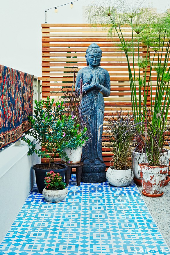 Granada Tile Cement Tiles Pop In Outdoor Spaces From Patios To - Cement tile maintenance