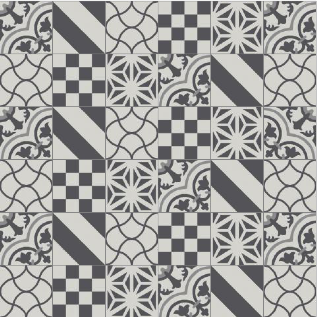 When It Comes To Cement Tile Trends Patchwork Is Where S At This Eclectic And Quirky Look Has Quietly Been Gaining Steam