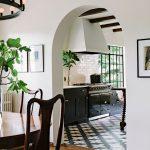 Badajoz cement tiles ground this stunning Portland kitchen designed by Jessica Helgerson Interior Design