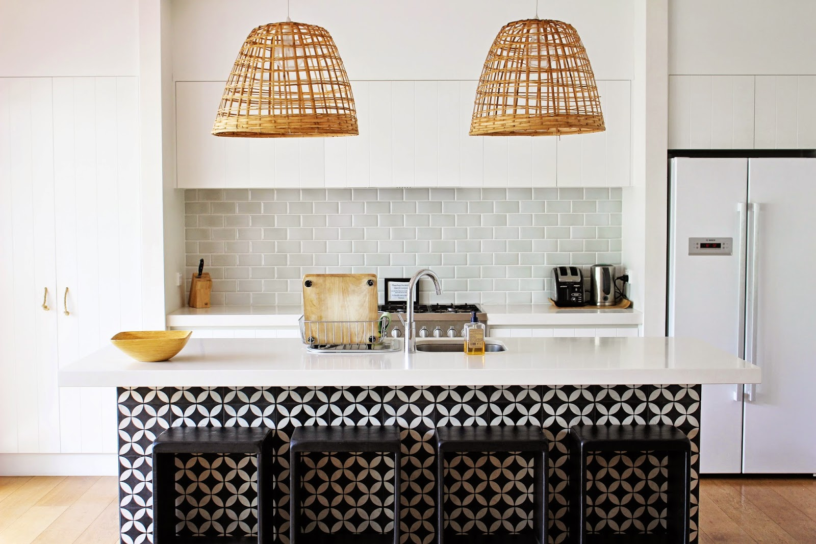 Beyond Kitchen Tile and Bathroom Tile: Use Granada Tile Cement Tile ...
