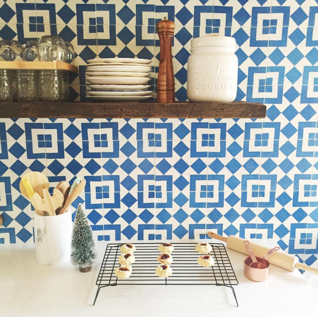 Granada Tile Fez Cement Tile In The Kitchen of Emma Magazine ...