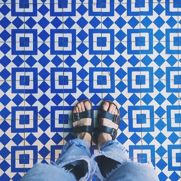Our Cement Tile Is Part Of A New Trend On Instagram Floorcore Find Out What It S All About Image Via