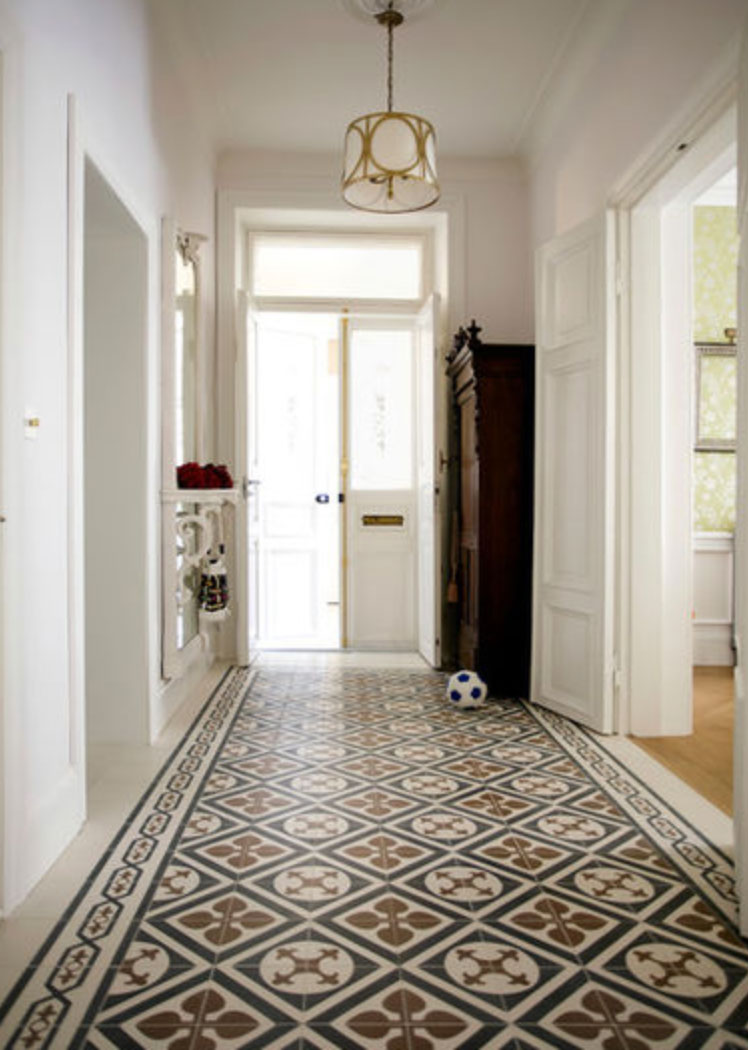 Get The Look A Cement Tile Rug Granada Tile Cement Tile Blog