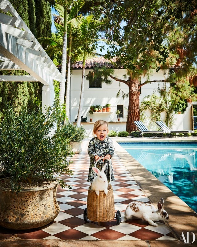 Architectural Digest Pool Designs: Nate Berkus's Home And Granada Tile Covered Deck In