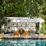 Nate Berkus' Granada Tile covered deck in AD. Photo by Douglass Friedman