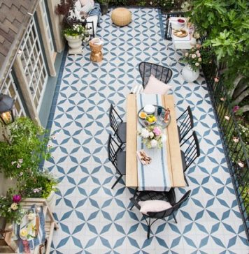 Granada Tile Cement Tile Blog Tile Ideas Tips And More - Cement tiles for backyard
