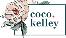 Logo for Coco Kelley blog