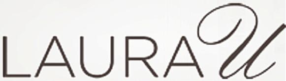 Laura U interior design logo