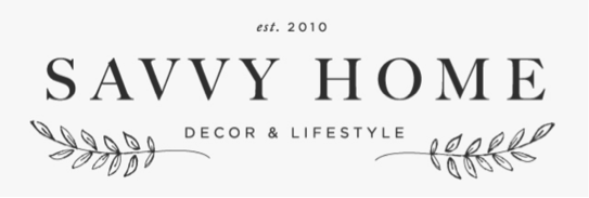 Savvy Home Blog logo