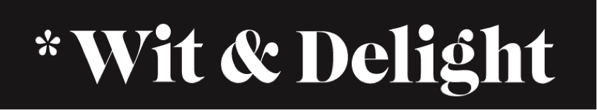 Logo for Wit & Delight blog