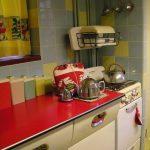 1960s kitchen using ceramic tiles