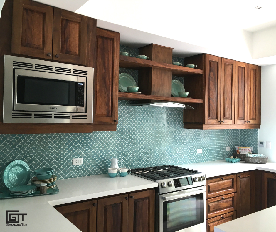 Renovating Your Kitchen Consider The Minis Collection For A Fresh Tile Design Granada Tile Cement Tile Blog Tile Ideas Tips And More
