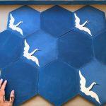 Pisos hexagonos de cemento Granada Tile