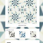 kaleidoscope tile designed by paul schatz granada tile designer