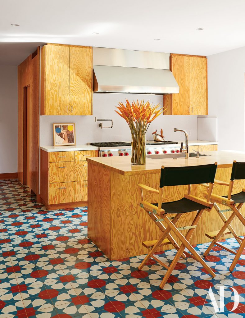 Architect Frank Gehry's kitchen