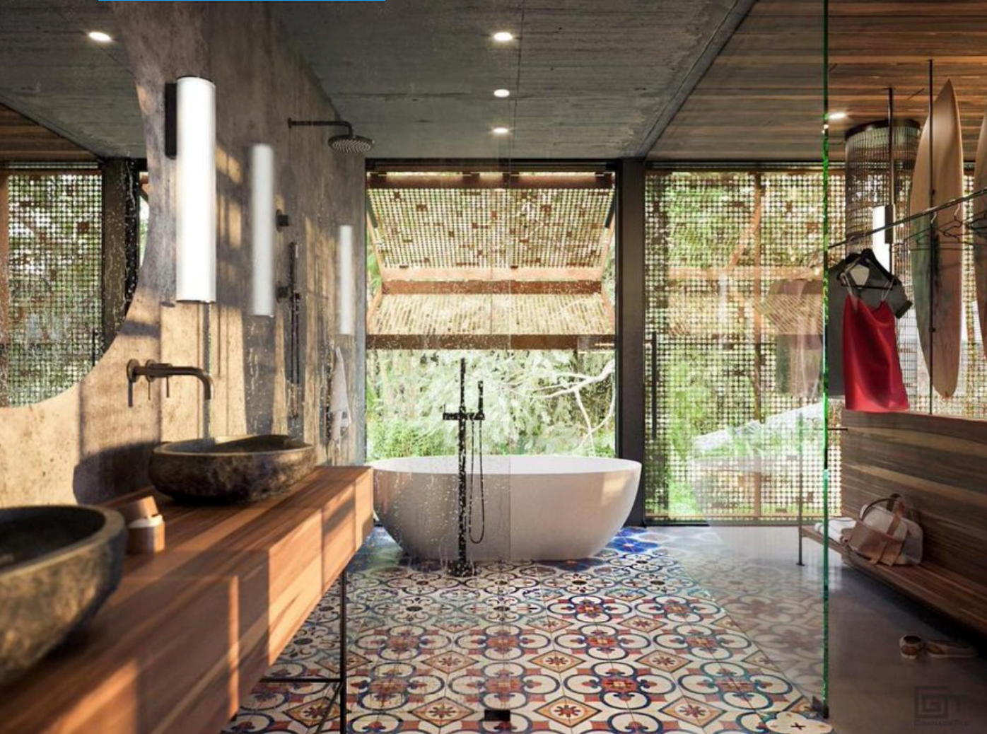 high-end bathroom, designed and photographed by Formafatal
