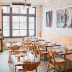 Loquita Santa Barbara restaurant uses Sofia Cement tile for flooring