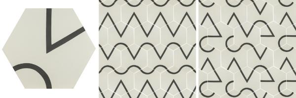 Let's Connect Base – DTLA cement tiles designed by Taryn Bone