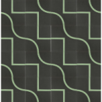 Meet Up Square - Echo Park cement tiles designed by Taryn Bone