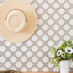 A boho home with Granada Tile's Star&Cross pattern