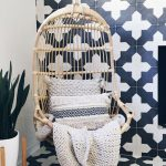 Badajoz cement tiles used in a Boho Chic Home
