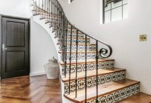 Gorgeous staircase by Billie James Design
