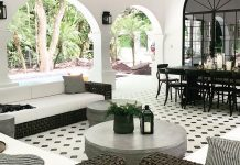 Using Granada Tile's design for a floor tile