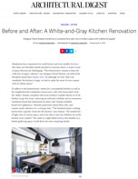 Before and After: A White-and-Grey Kitchen Renovation