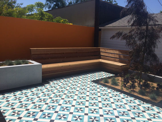 Cement Tiles For Patio Migrant Resource Network - Cement tiles for backyard