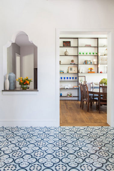 cement tile floor normandy kitchen cement tile patterns encaustic cement tile dining room - Dining Room Floor Tiles