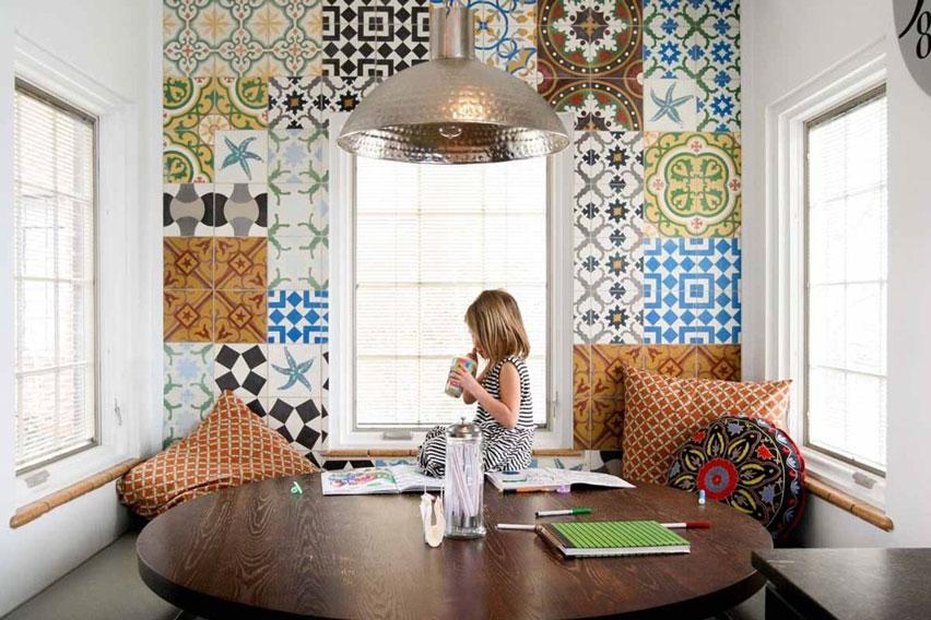 Cement Tile Floor Normandy Kitchen Cement Tile Patterns Encaustic Cement Tile  Dining Room Floor Kitchen ...