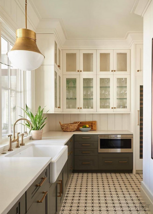 Kitchen Cement Tiles | Cement and Concrete Kitchen Wall ...
