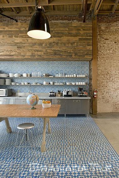 ... Granada Tile Companyu0027s Fez Design Creates A Buzz At The Modern Biscuit  Filmworks Headquarters ...