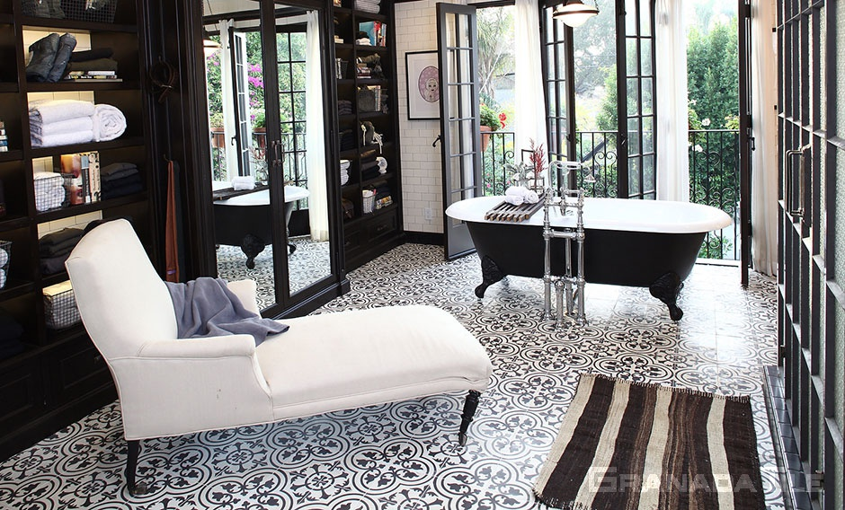 tile floor living room. cement tile floor bathroom  Residential Cement Tiles Concrete Floor and Wall Tiling Granada Tile