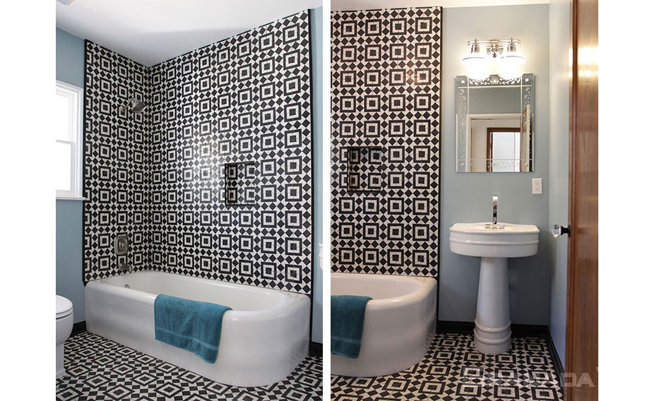 Residential Cement Tiles | Concrete Floor and Wall Tiling ...
