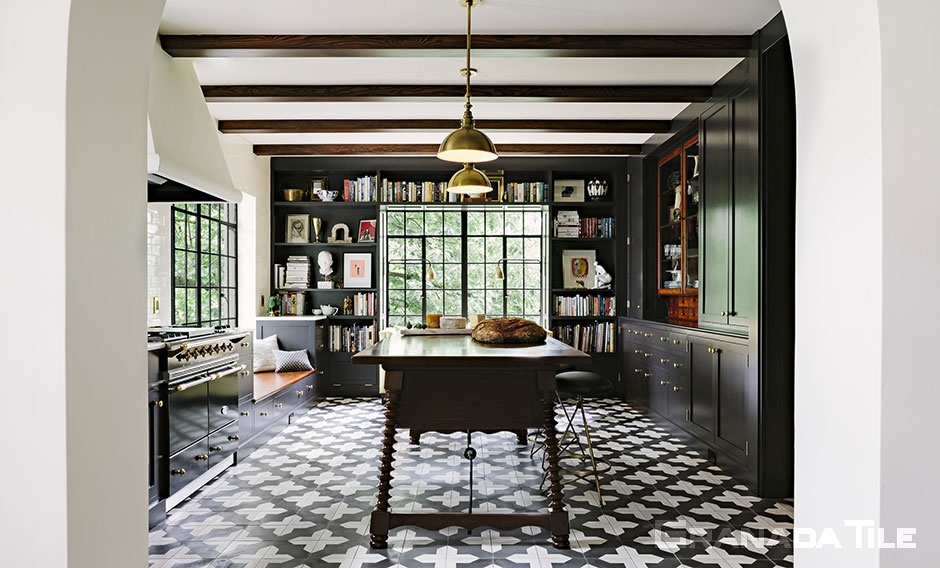 Kitchen Cement Tiles | Cement and Concrete Kitchen Wall Tiles ...