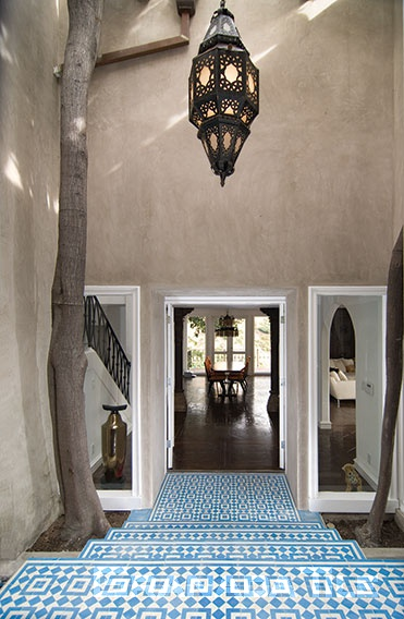 Exterior Grand Entrance Granada Cement Tile