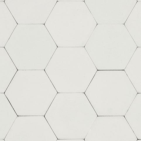 Hexagon - White