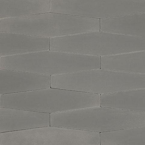 Long Hex - Aqua | Cement and Concrete Tiles - Granada Tile