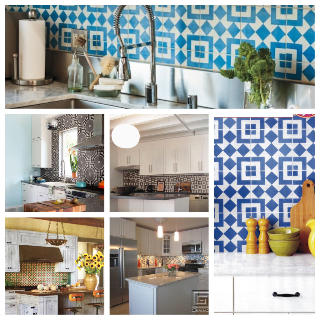 Installation equation cement tile backsplash for an inexpensive the qualities that make granada tiles cement tiles perfect for a hardworking coffee shop or restaurant space in addition to their beautiful designs and doublecrazyfo Choice Image